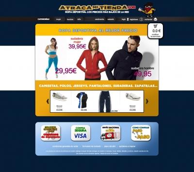 cbaec235ffdb0 Diseño de tienda online para la web atracamitienda.com